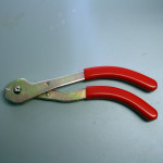 These wire cutters were designed for cutting stranded cable cleanly, leaving no frayed ends.